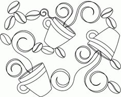 1000+ images about Embrodery-Teapots and cups on Pinterest