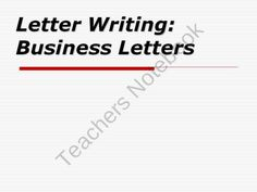 A business letter about purchasing new equipment. #