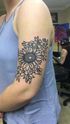 20 Sunflower Tattoos For Women Upper Leg Ideas And Designs