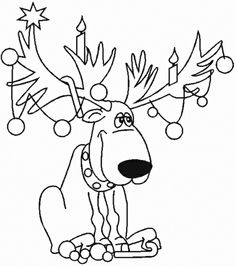 Christmas coloring pages, Free christmas coloring pages