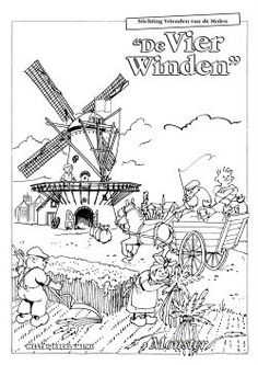 Windmill pattern. Use the printable outline for crafts