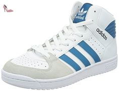 adidas pro play baskets mode mixte adulte blanc running white ftw