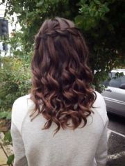 hoco hair ideas