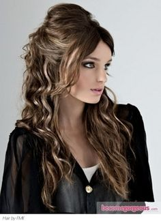 Bump And Curls Hairstyles Bump Hair Trend 2017