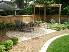 Neat Small Backyard Patio Patios For Small Yards Pinterest