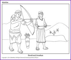 David and Goliath (Find Words Puzzle)- Kids Korner