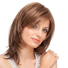 Frisuren Mittellang Stufig Bilder Frisuren Pinterest
