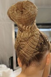 hair ideas military ball