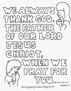 Coloring Pages for Kids by Mr. Adron: Cast Your Worry on
