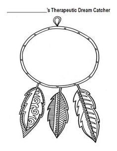 Therapeutic Dream Catchers FREEBIE!! Great for art therapy