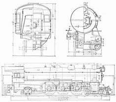 1000+ images about Railroad blueprints and drawings on