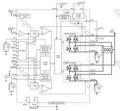 Stepper motor controller circuit diagram using IC's IC