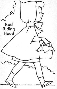 Little Red Riding Hood Writing Craftivity-Grandma Wolf