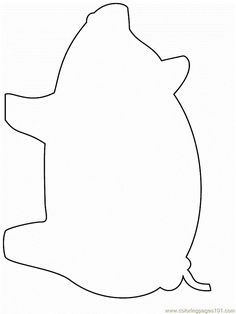Cow face pattern. Use the printable outline for crafts