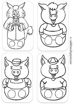 Little pigs, Three little pigs and Pigs on Pinterest