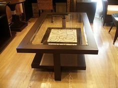 Unique Center Table Designs For Drawing Room