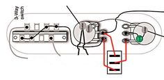 Guitar Wiring Diagram 2 Humbuckers/3-Way Toggle Switch/1