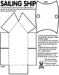 Template for a viking ship (free). Create your own figure