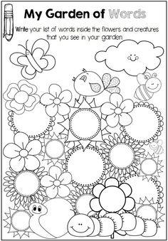 Spring Worksheets Spring Spelling Worksheet