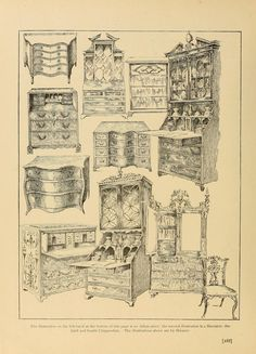 1000 images about Decorating  Antique  Period Furniture