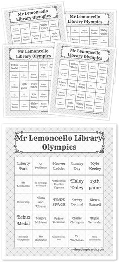 A Scavenger Hunt to celebrate reading Escape from Mr