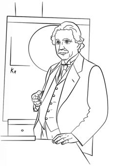 Free coloring pages from ABCs to historical figures