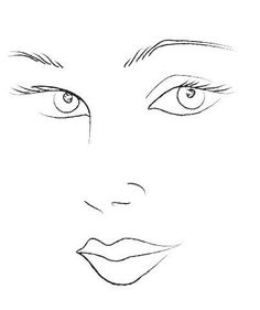 Blank Mac Face Charts Makeup Anarchist Pictures. This is