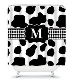 Brown Cow Animal Print Shower Curtain Animals Brown And Cow
