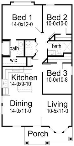 Modular Homes Floor Plans 1350 Square Feet 3 Bedroom 2 Bathroom