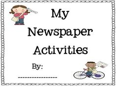 1000+ images about Newspaper Activities of Kids on
