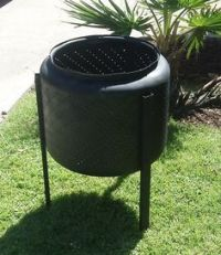I have seen tons of people using a washing machine tub for ...