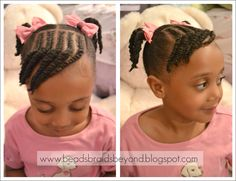 Natural Hairstyles For Little Black Girls With Short Hair Kids