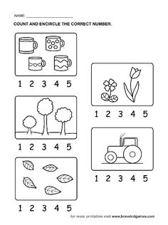 Free printable visual search alphabet page. Great for