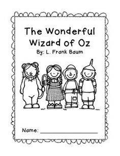 Parts of Speech Wizard of Oz Themed Worksheets {Freebie