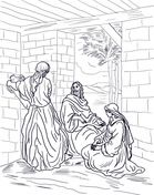 1000+ images about Mary and Martha Coloring Pages on