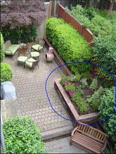 Backyard On Pinterest Townhouse Backyards And Pea Gravel Patio