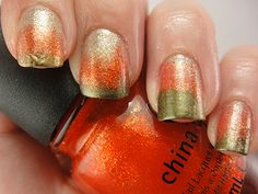 1000+ images about Thanksgiving Nail Art on Pinterest