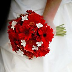 1000 images about Brautstrau on Pinterest  Gerbera wedding bouquets Wedding themes red and