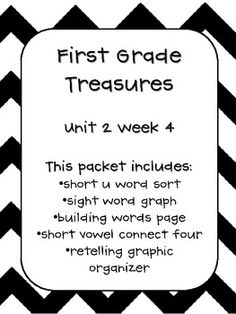 1000+ images about First Grade Treasures Units on