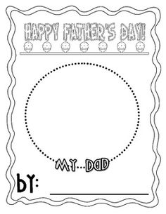 Happy Hands Belcoo Childminder Father's day printable for