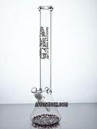 "AMG Glass 18"" Beaker Water Pipe - Cheetah | Afrosmoke ..."