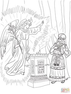 Bible stories, Scripts and Coloring pages on Pinterest