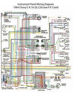 ELECTRIC: L6 Engine Wiring Diagram | '60s Chevy C10  Wiring & Electric | Pinterest | Engine