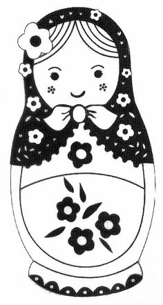 Download Our Free Stacking Russian Doll Template To Make