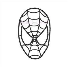 Spiderman Face Logo Spiderman Mask Clipart 23425wall.jpg