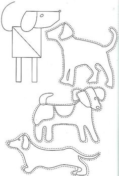 1000+ images about Dog Embroidery Patterns on Pinterest