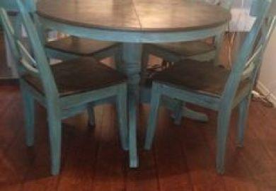 Diy Distressed Dining Room Furniture
