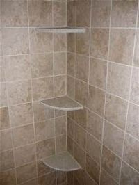 Tile Shower Shelves | Bathroom remodel | Pinterest | Diy ...