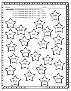 sight word worksheet: NEW 713 SIGHT WORD BLACK WORKSHEET