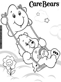 1000+ images about Care Bears Coloring Pages on Pinterest
